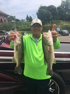 Lake Erie Bass Fishing Report June 23, 2016