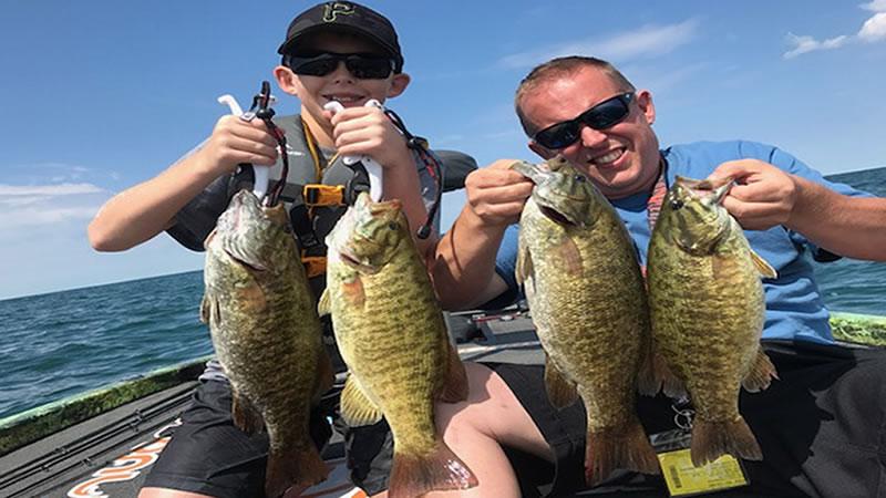 September Lake Erie Bass Fishing